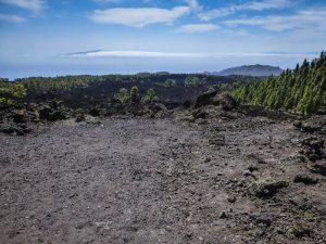 Terreno originado por erupciones hace 200 años