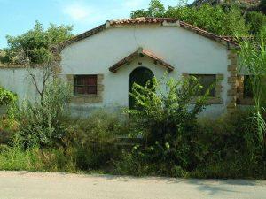 Antiguo apeadero de la localidad de Alcañiz