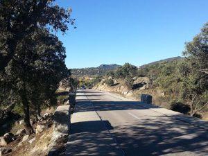 Carretera de Hoyo a Colmenar