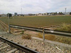 Cruce Vía Ferroviaria