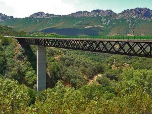 Puente sobre la Garganta Salóbriga