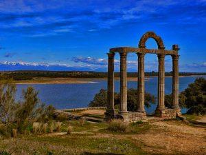 Templo Romano Los Mármoles en Bohonal de Ibor