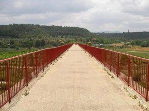 Viaducto sobre el rio Mataraña