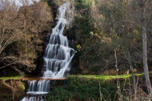 cascada en Castañar de Ibor