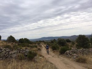 Camino entre Loyoyuela - Buitrago