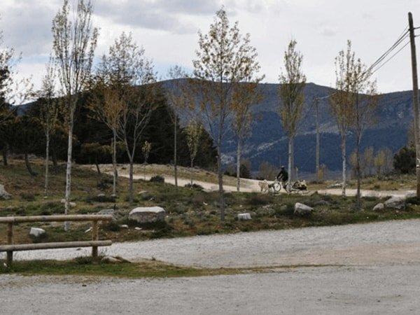 Tramo 1 - Comienzo de ruta desde el parking del collado de Bustarviejo