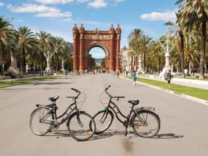 Arco del Triunfo - Barcelona en Bici