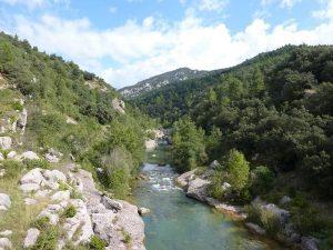 El Rio Llobregat y su entorno