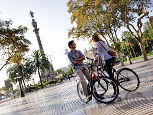 Mirador de Colón - Turismo en bici por Bacelona