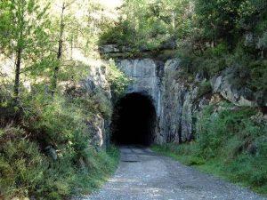Túnel de la vía verde del Llobregat