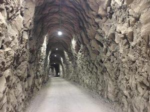 Tunel iluminado - Vía Verde del Llobregat en bici
