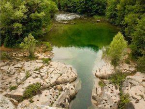 Vista del Río Llobregat