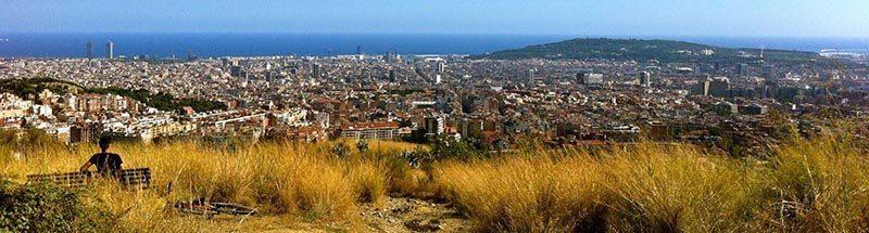 Espectaculares vistas de Barcelona