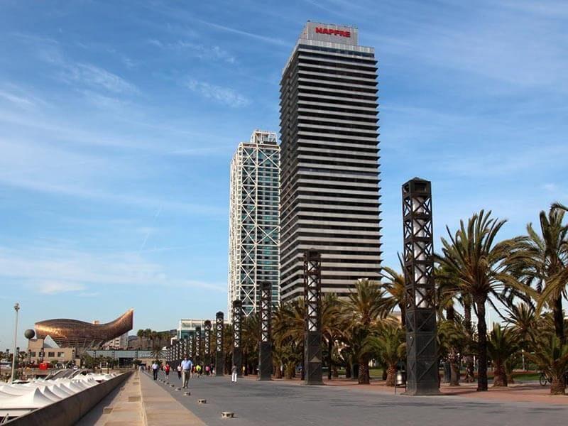 Torres Mapfre - Barcelona en bici