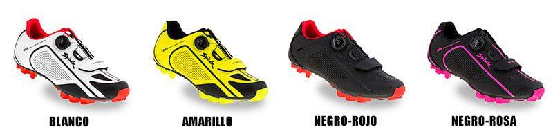 Colores Zapatillas MTB Spiuk Altube M