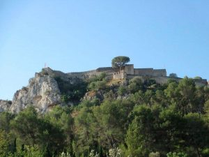 Murallas del Castillo de Xàtiva