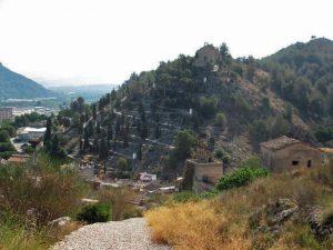 Vista Ermita Calvari Alt de Xátiva