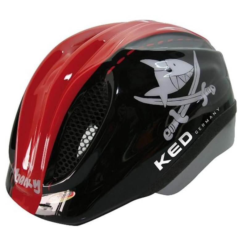 Casco de bici para niño - KED Meggy - Tiburón Rojo