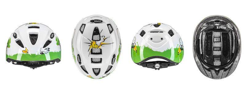 Casco de bici para niño Uvex Kid - Vistas