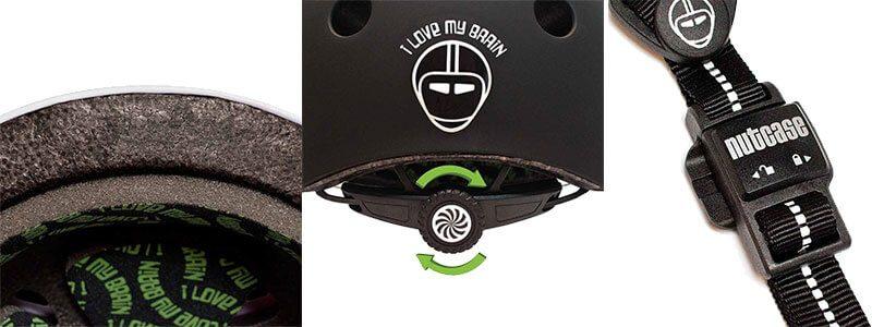 Casco de bicicleta para niños Nutcase Gen3 - Detalles