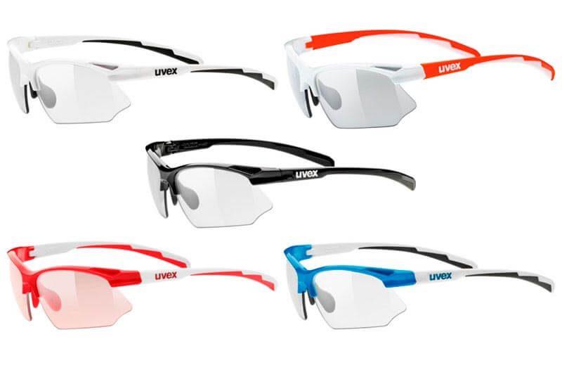 Colores de las gafas fotocromáticas uvex sportstyle 802