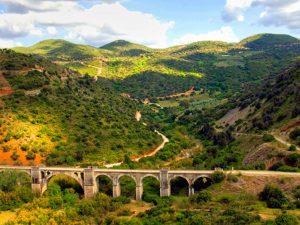 Viaducto Vía verde de la Sierra de Cádiz