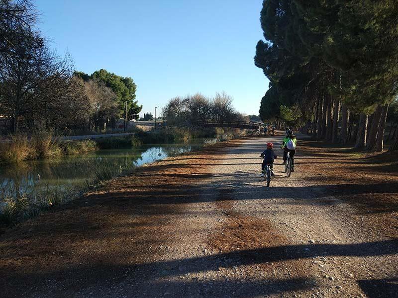 Canal por Valdegurrina - Anillo Verde de Zaragoza