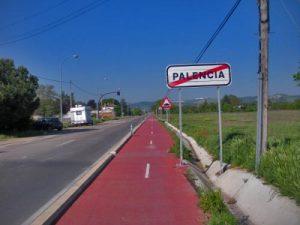 Carril-bici junto a la carretera P-901