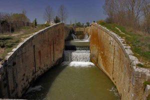 Esclusas Viñalta Canal de Castilla