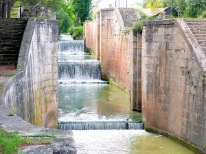 Esclusas de Valdegurriana - Anillo Verde Zaragoza