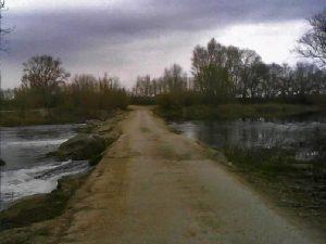 Pasarela sobre el río Segre