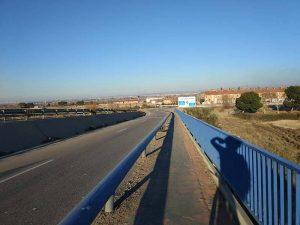 Puente Autovía Cartuja - Anillo Verde Zaragoza