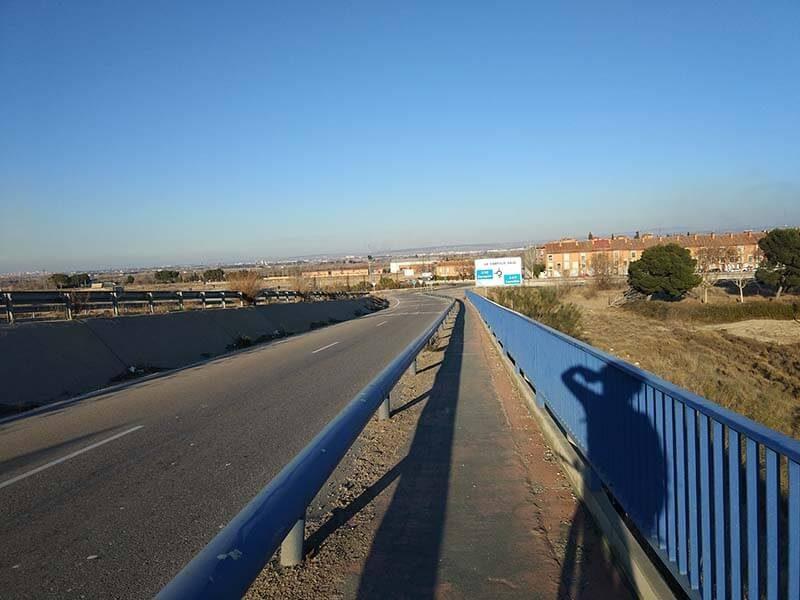 Puente Autovía Cartuja - Anillo Verde de Zaragoza