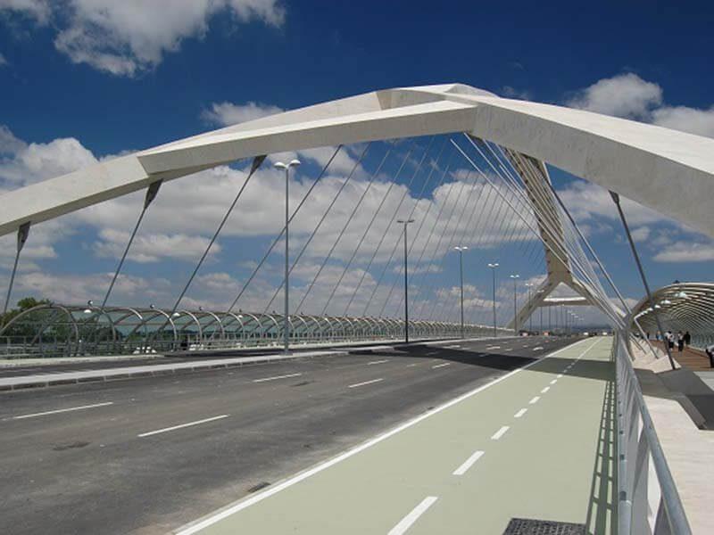 Puente del Tercer Milenio - Anillo Verde de Zaragoza