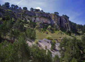 Rocas entorno río Lobos