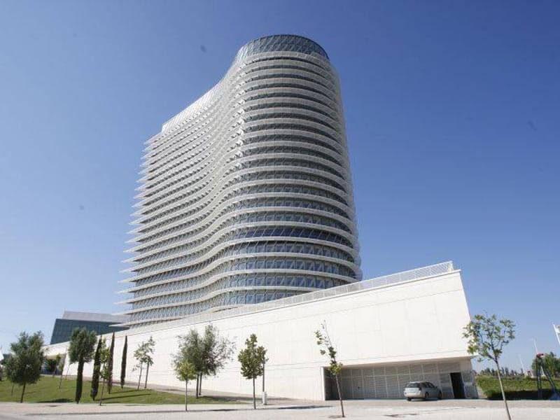 Torre del Agua - Anillo Verde de Zaragoza