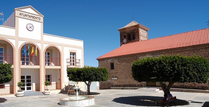 Plaza del Ayuntamiento de Enix