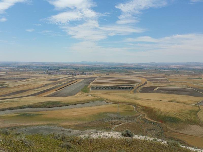 Panorámica desde el Cerro Magán