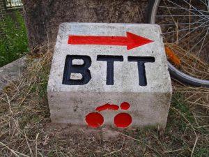 señalización circuito btt