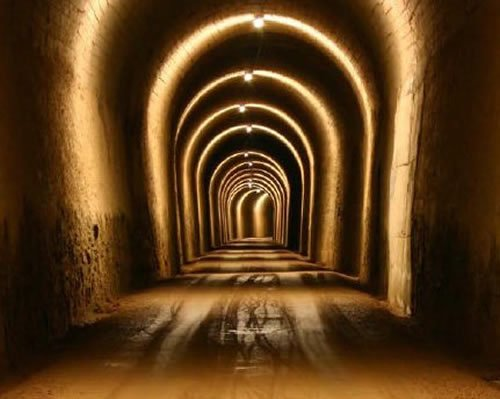 Túneles de la Vía verde de la Sierra de Cádiz