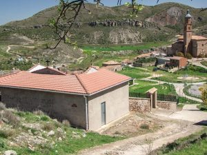 Ermita del Cristo y Lagunilla del Jubera