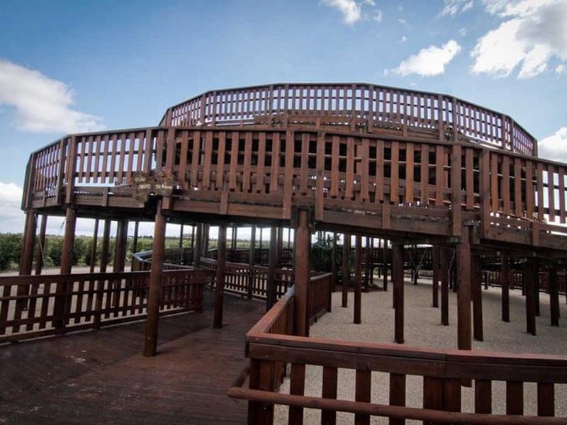 Mirador central del parque Felipe VI (Valdebebas)