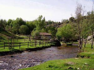 Molino de Hiruela y río Jarama