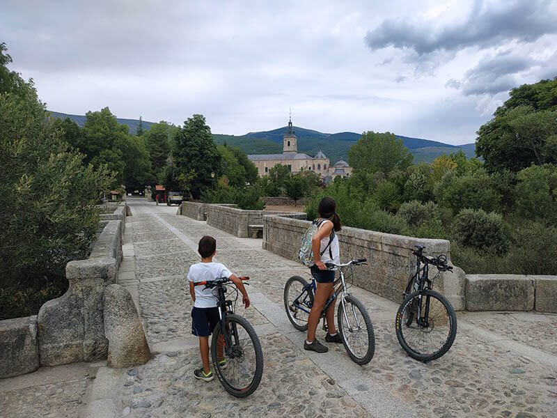 Ruta Bici Rascafría Puente del Perdon