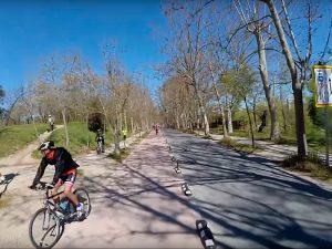 Vía Ciclista Casa de Campo