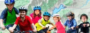 Las mejores rutas en bici con niños por Madrid