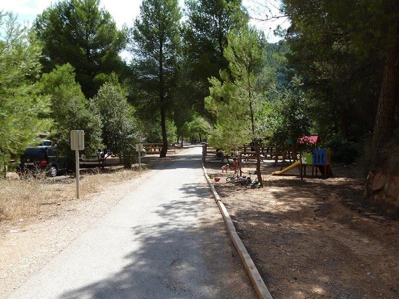 Àrea de pícnic de la Fontcalda