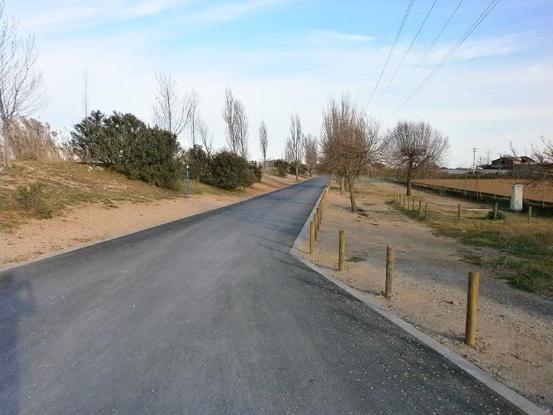 Camino del Sorral - Delta del Llobregat en bici