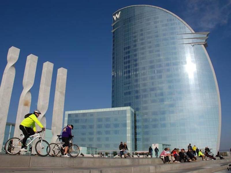 Hotel Vela Barcelona - Ruta en bici