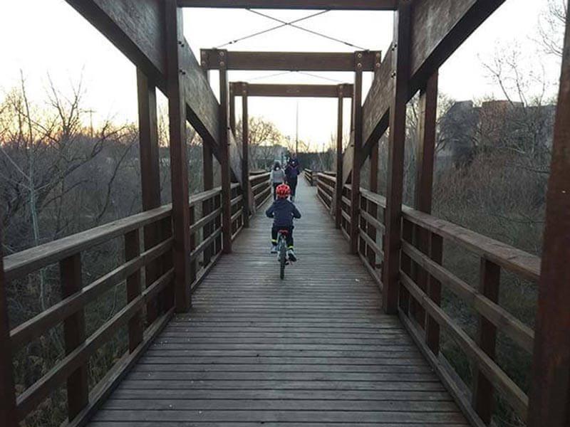 Puente de Madera Santa Isabel